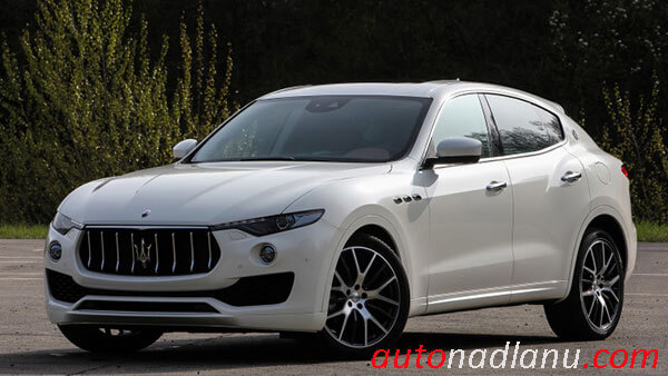 Maserati Levante 2017 crosover test