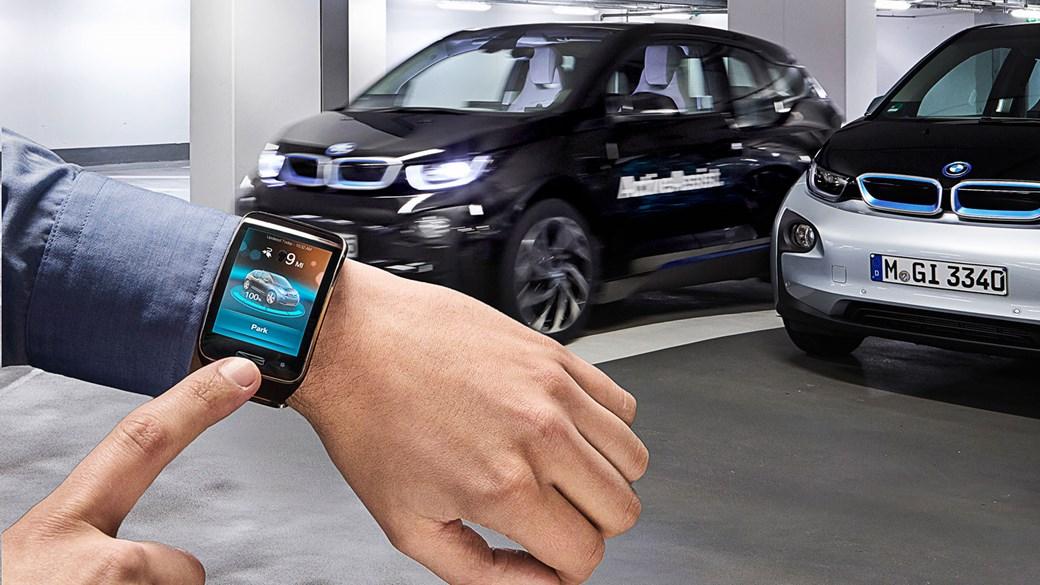 Parkiranje mobilnim ili satom