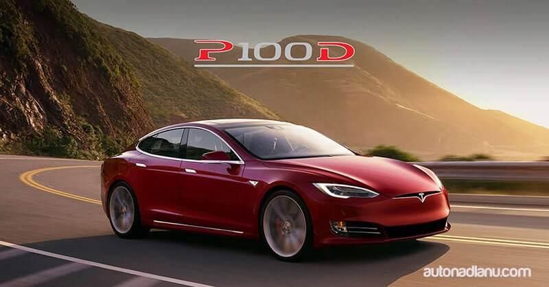 Tesla auto P100D