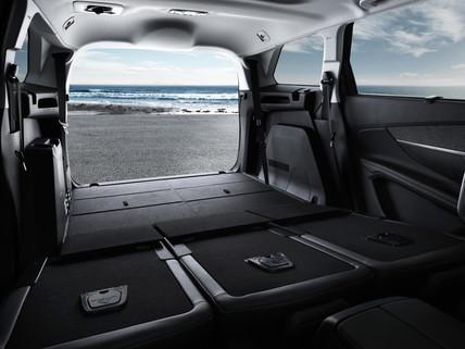 Peugeot 5008 prostor za prtljag
