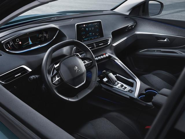 Peugeot 5008 unutrasnjost