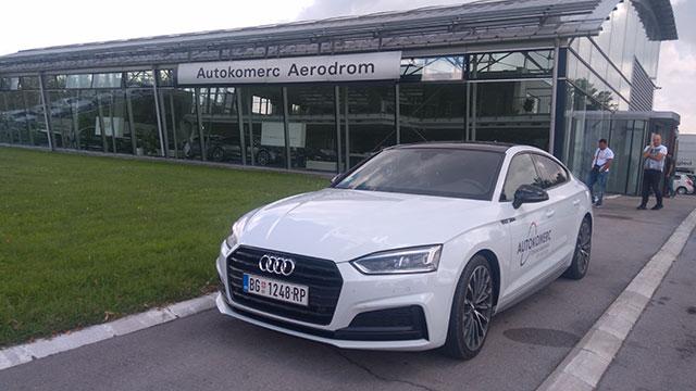Audi A5 spreda