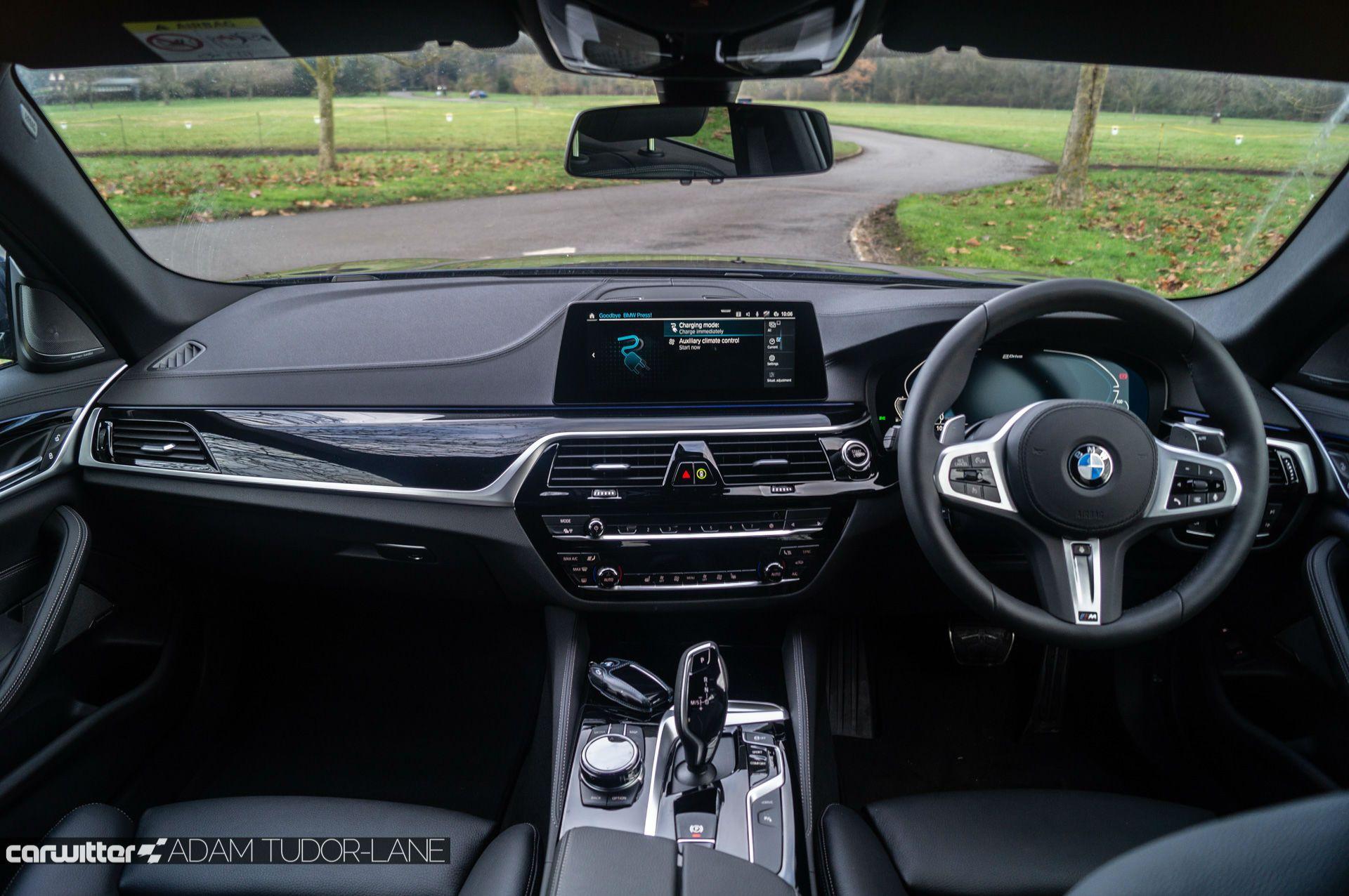 Unutrašnjost BMW 530e